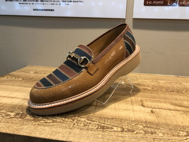 豚革の靴4