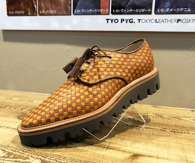 豚革の靴3